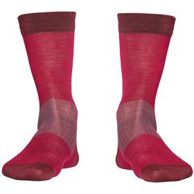 Röjk Everyday Merino Socks cranberry red